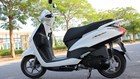 Lỗi bộ côn, xe ga cho chị em Yamaha Acruzo bị triệu hồi