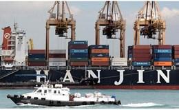 Đại gia hàng hải Hàn Quốc phá sản, nợ cảng Việt Nam hàng chục tỉ đồng