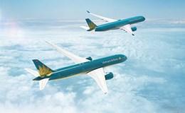 Tăng kịch trần, cổ phiếu Vietnam Airlines nóng trong ngày đầu lên sàn