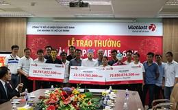 Một ngày, Vietlott rót gần 130 tỉ đồng trả thưởng