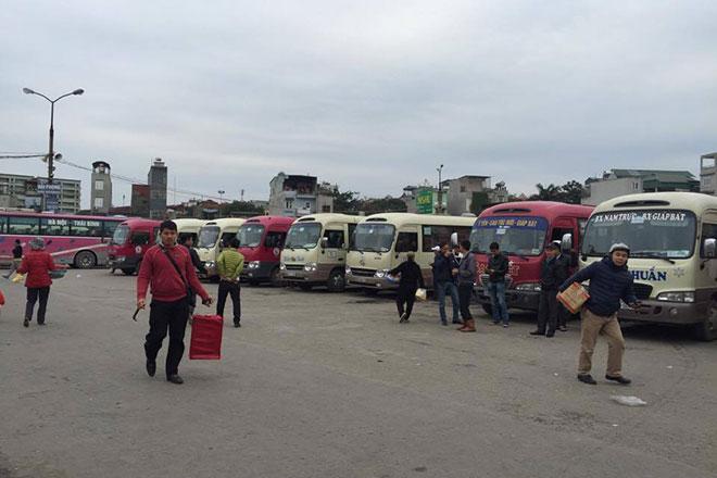 Hà Nội bắt đầu xử lý 5 nhà xe không chịu điều chuyển luồng tuyến