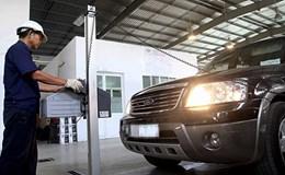 Né phạt nguội, hơn 1.200 ôtô bị từ chối đăng kiểm