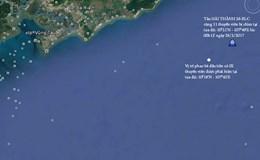Hai tàu đấu đầu trên biển, một tàu chìm, 9 thuyền viên mất tích