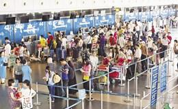 """""""Cuộc đua"""" đảm bảo chỉ số đúng giờ tại sân bay Nội Bài"""