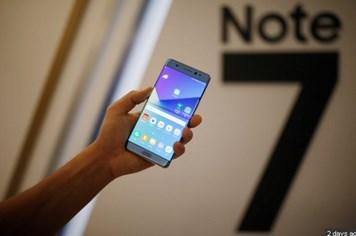 Thu hồi toàn bộ Samsung Galaxy Note 7 để đổi mới