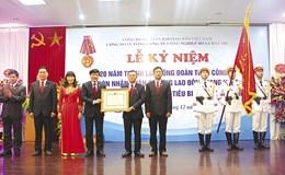 Công đoàn TCty Công nghiệp Hóa chất mỏ:  Đón Huân chương Lao Động hạng Nhất