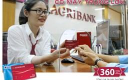 Khách hàng may mắn trúng 100 triệu đồng khi mở thẻ tại Agribank