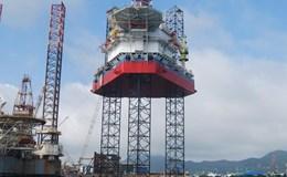 Giàn khoan tự nâng 90m nước - Bước tiến mới của ngành cơ khí Dầu khí