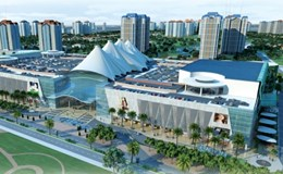 """""""Đại gia"""" Hàn Quốc tái khởi động dự án đại siêu thị Ciputra Mall"""