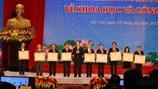 """Điểm danh 16 công trình đoạt giải thưởng """"Nobel Việt Nam"""""""
