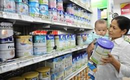 Bình ổn giá các mặt hàng sữa cho trẻ em đến hết tháng 3.2017
