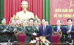 Viettel cam kết xây dựng đô thị thông minh tại Phú Thọ