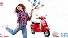 Hòa mạng MobiFone trúng thưởng Vespa LX 125cc
