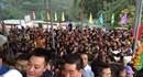 Chùa Hương đông nghịt trước khai hội, xếp hàng 3 tiếng không lên nổi cáp treo