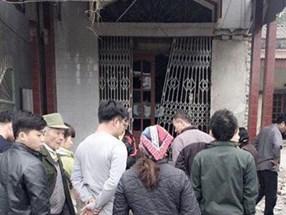 Thái Nguyên: Nổ lớn trước cửa nhà trưởng công an xã