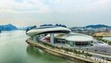 Độc đáo kiến trúc Cung quy hoạch, triển lãm Quảng Ninh  