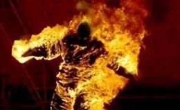 Có xử phạt được thanh niên châm lửa vào người rồi nhảy xuống cầu Tân Hóa?