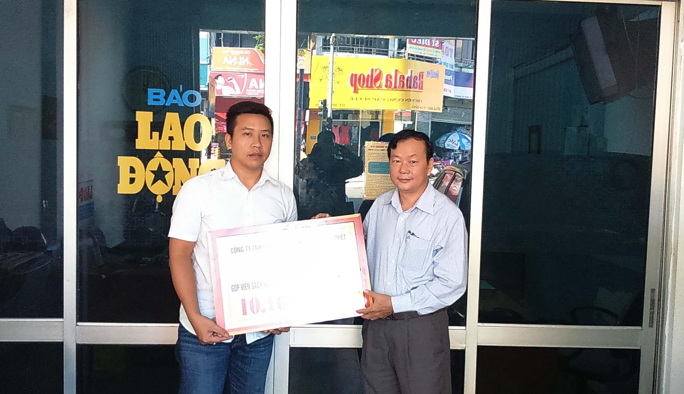 CĐ Công ty TNHH MTV XSKT&DV In Đà Nẵng: Ủng hộ xây dựng Khu tưởng niệm chiến sĩ Gạc Ma