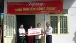 """Chương trình """"Mái ấm Công đoàn"""" ở Đắk Lắk: Hơn 1.000 gia đình nghèo vượt khó"""