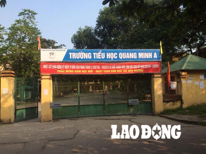 Trường tiểu học Quang Minh A : Nhà trường lạm thu hàng tỉ đồng mỗi năm