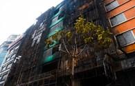 Những gì còn lại sau vụ cháy quán karaoke trên đường Trần Thái Tông