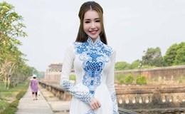 Elly Trần hút mọi ánh nhìn với áo dài giữa kinh thành Huế