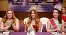 Dàn hoa hậu các nước tham dự đêm chung kết cuộc thi Hoa khôi Du lịch Việt Nam 2017