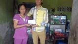 Quỹ Tấm Lòng Vàng trao tiền hỗ trợ 2 cảnh đời