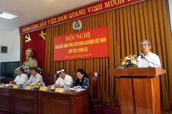 Hội nghị lần thứ 6 BCH Tổng LĐLĐVN khóa XI: Thẳng thắn và cầu thị