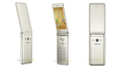 """Giữa """"bão"""" smartphone, Samsung tung ra điện thoại nắp gập?"""