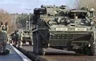 Mỹ triển khai 250 xe tăng áp sát biên giới Nga