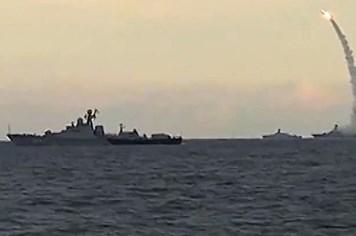 Nga đưa chiến hạm tên lửa Kalibr đến tham chiến ở Syria