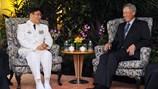 """Trung Quốc muốn chủ nhà Singapore """"điều hướng"""" Đối thoại Shangri-La"""