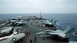 Hạm đội tàu sân bay Mỹ tập trận tại Biển Đông