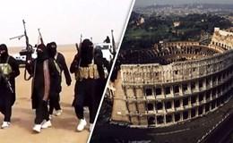 """Thành Rome """"ngồi trên lửa"""" vì đe doạ """"lạnh gáy"""" của IS"""