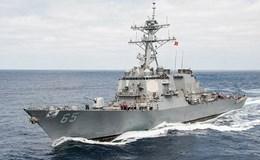 Chiến hạm Mỹ thăm Trung Quốc sau phán quyết Toà trọng tài