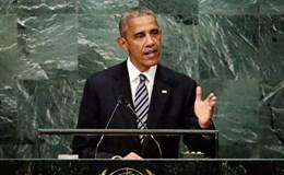 Phát biểu chia tay LHQ, ông Obama kêu gọi giải pháp hoà bình ở Biển Đông