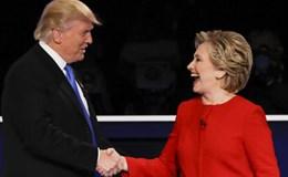 Hillary Clinton dẫn trước Donald Trump với tỉ số 1-0