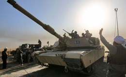Trận đánh IS ở Mosul: Quân đội Iraq tiến công như vũ bão