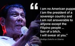 Ông Duterte nói Mỹ có ác ý với Philippines