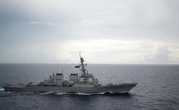 Uy lực của Hạm đội 3 Hoa Kỳ lần đầu tiên tuần tra gần Hoàng Sa