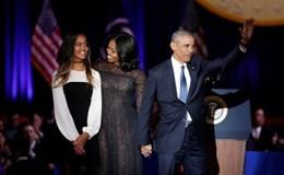 Tổng thống Obama: Vinh hạnh của đời tôi là được phục vụ người dân Mỹ