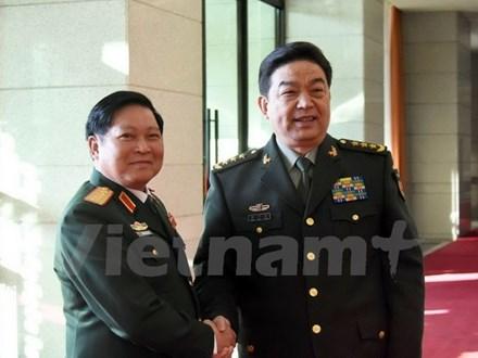 Hợp tác quân sự Việt-Trung đưa quan hệ hai nước phát triển ổn định - ảnh 1