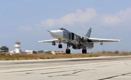 Nga-Thổ thực hiện phi vụ chung đầu tiên không kích IS ở Syria