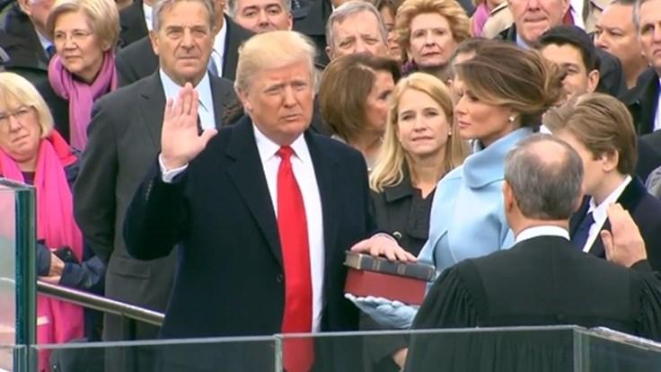 TRỰC TIẾP: Lễ nhậm chức Tổng thống của ông Donald Trump