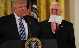 """Tổng thống Trump úp mở về lá thư """"đẹp đẽ"""" ông Obama để lại"""