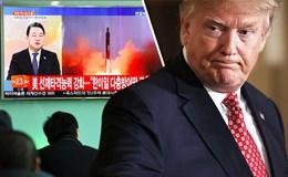 Ông Trump thề cởi trói sức mạnh quân sự Mỹ vì Triều Tiên