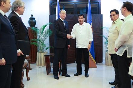 Nga mời Philippines huấn luyện đặc nhiệm bảo vệ ông Duterte - ảnh 1