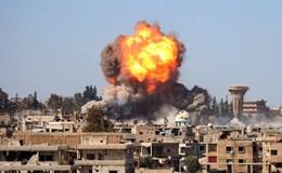 Quân đội Syria nã bom ồ ạt phiến quân trước đàm phán