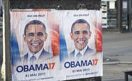 Cử tri Paris khẩn cầu ông Obama tranh cử Tổng thống Pháp
